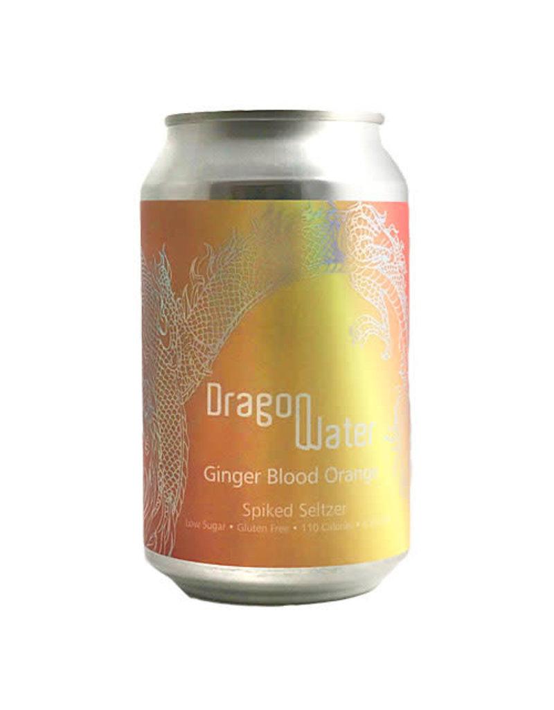 Dragon Water Dragon Water Ginger Blood Orange Seltzer