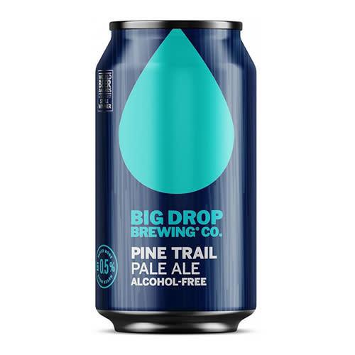 Big Drop Brewing Big Drop Pine Trail Alcohol Free Pale Ale can