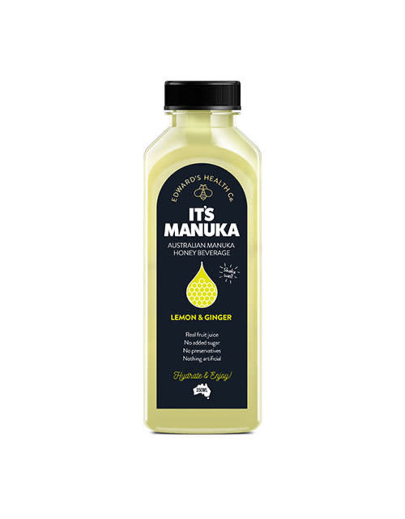 It's Manuka It's Manuka Lemon & Ginger Honey Water
