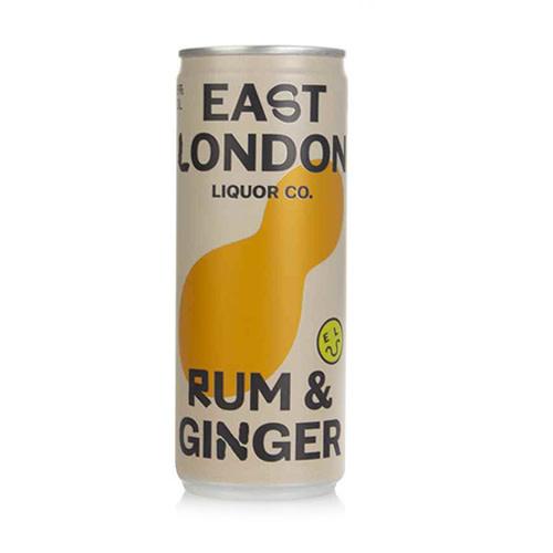 East London Liquor Co East London Liquor Rum and Ginger