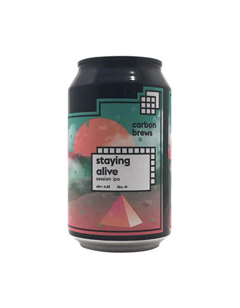 Carbon Brews Carbon Brew Staying Alive Session IPA