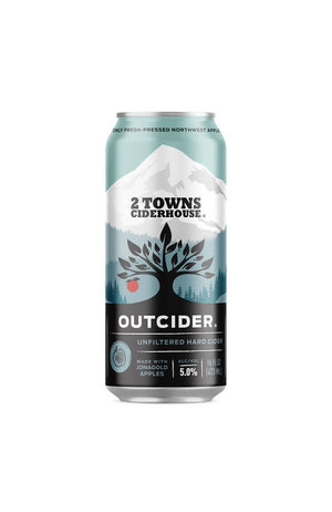 2 Towns Ciderhouse 2 Towns Ciderhouse Outcider Unfiltered Hard Cider*