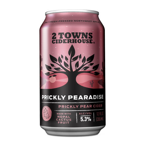 2 Towns Ciderhouse 2 Towns Ciderhouse Prickly Pearadise