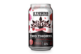 2 Towns Ciderhouse 2 Towns Ciderhouse Two Thorns Raspberry Rose Cider
