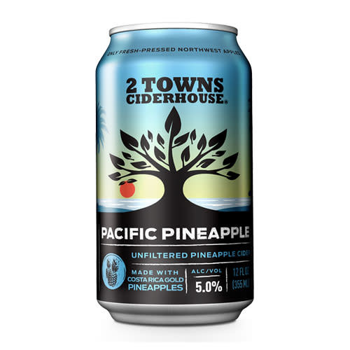 2 Towns Ciderhouse 2 Towns Ciderhouse Pacific Pineapple Unfiltered Pineapple Cider