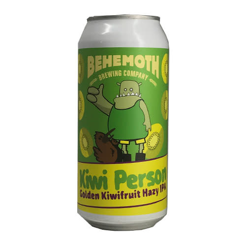 Behemoth Brewing Behemoth Kiwi Person Golden Kiwifruit Hazy IPA