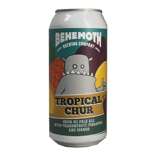 Behemoth Brewing Behemoth Tropical Chur Passionfruit, Pineapple, Mango NZ Pale Ale