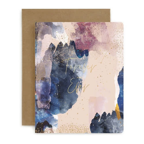Bespoke Letter Press Bespoke Letterpress Greeting Card - Forever and Ever