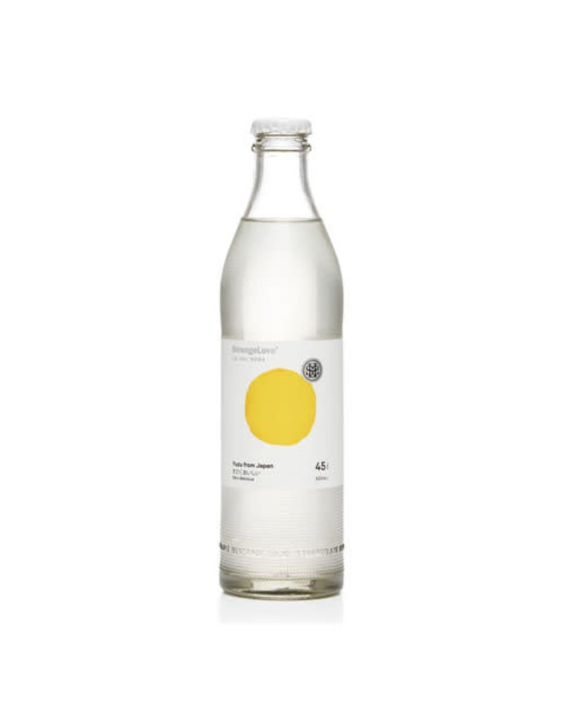 StrangeLove StrangeLove Yuzu Lo-Cal Soda Water
