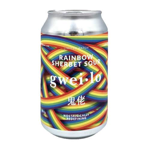 Gweilo Gweilo Rainbow Sherbert Sour