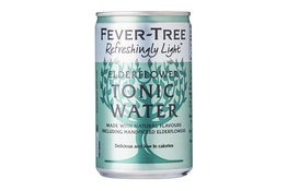 Fever Tree Fever Tree Refreshingly Light Elder Flower Tonic Water can