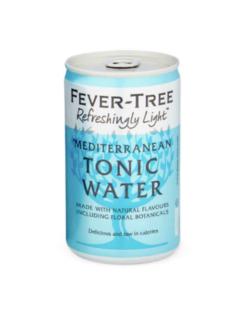 Fever Tree Fever Tree Refreshingly Light Mediterranean Tonic Water can