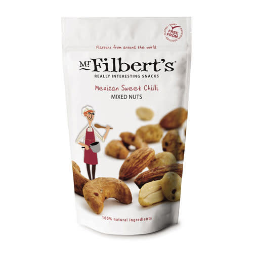 Mr Filbert's Mr Filbert's Mexican Sweet Chilli Mixed Nuts 110g