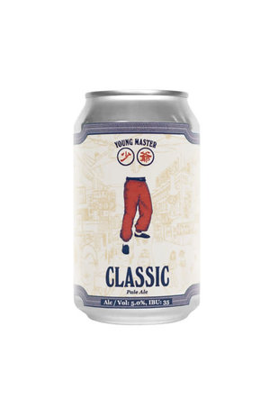 Young Master Young Master Classic Pale Ale can