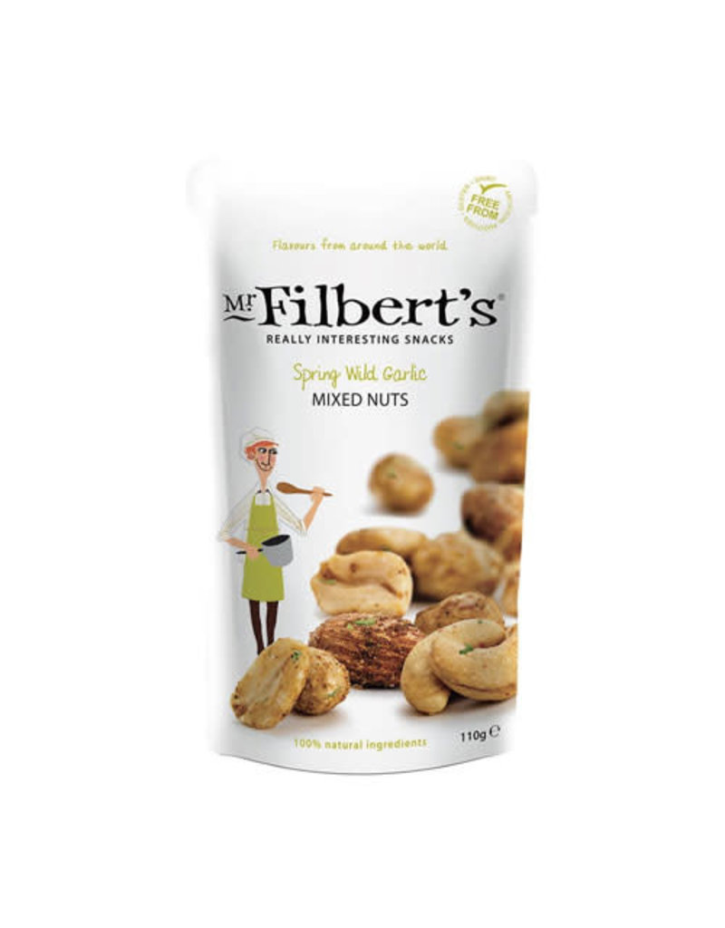 Mr Filbert's Mr Filbert's Spring Wild Garlic Mixed Nuts 110g