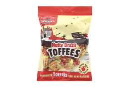 Walkers Nonsuch Walkers Nonsuch Nutty Brazil Toffees 150g