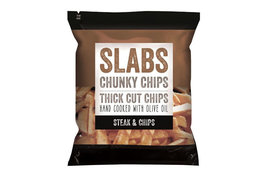Slabs Slabs Steak & Chips Chunky Chips 60g