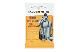 Savoursmiths Savoursmiths Bubbly & Serrano Chilli 150g