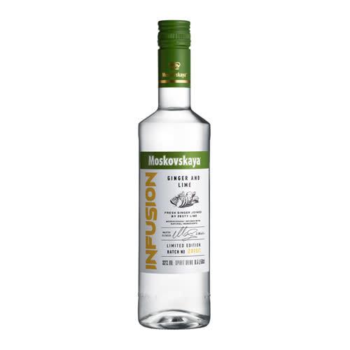 Moskovskaya Moskovskaya Infusion Ginger and Lime Vodka