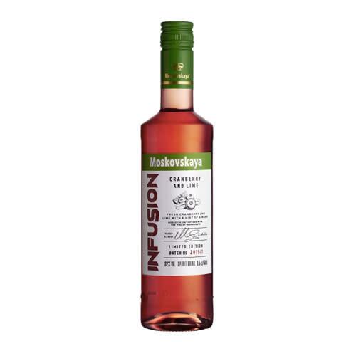 Moskovskaya Moskovskaya Infusion Cranberry and Lime Vodka