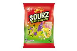 Allen's Allen's Sourz Tangy Randoms 170g