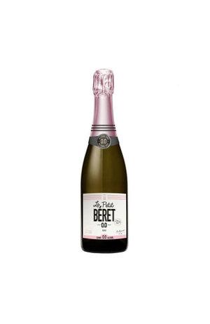 Le PETIT Béret Le PETIT Béret Rose Sparkling Wine Alcohol Free