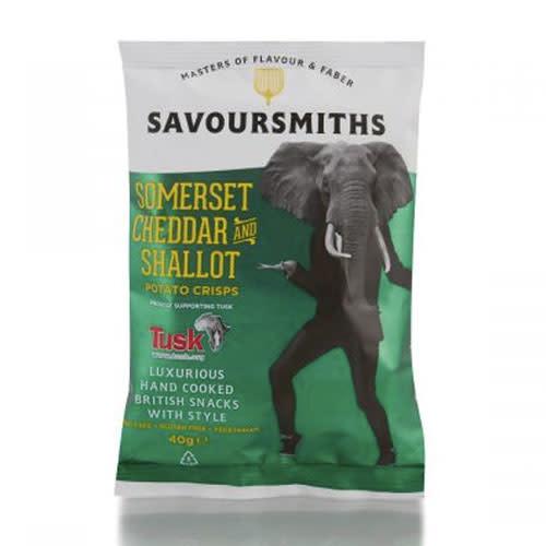 Savoursmiths Savoursmiths Somerset Cheddar and Shallot Chilli 150g