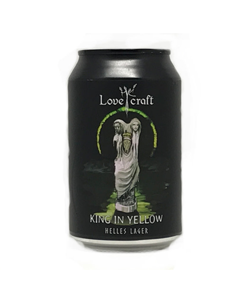 HK Lovecraft HK Lovecraft King in Yellow Helles Lager