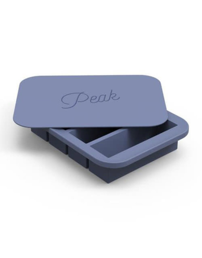 Peak Ice Works W&P Peak Ice Works Collins Ice Tray Peak Blue 11cm Long