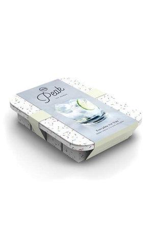 W&P Design W&P Peak Ice Works Everyday Ice Tray Speckled White 3cm x 3cm
