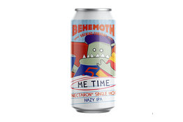 Behemoth Brewing Behemoth Me Time Nectaron Single Hop Hazy IPA