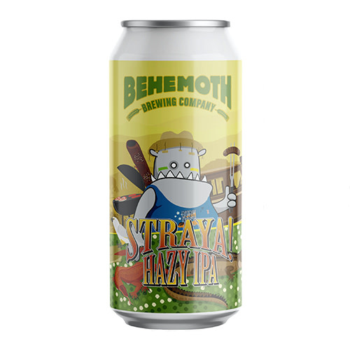 Behemoth Brewing Behemoth Straya Hazy IPA
