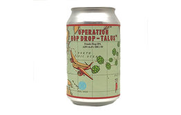 Carbon Brews Operation Hop Drop - Talus Fresh Hop IPA - Carbon Brews x Double Haven x Heroes Beer x Young Master x Yakima Chief