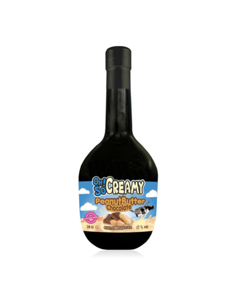 Scandinavian Wine & Spitits Oh! So Creamy Peanut Butter Chocolate Cream Liqueur (Lactose Free)