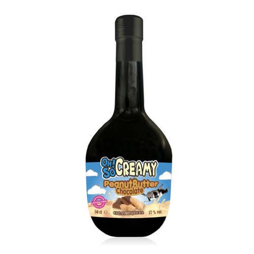 Scandinavian Wine & Spitits Oh! So Creamy Peanut Butter Chocolate Cream Liqueur (Lactose Free)