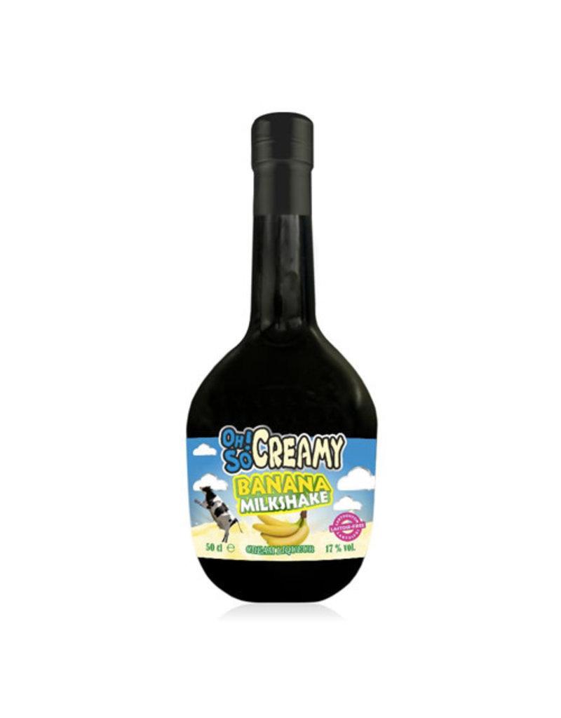 Scandinavian Wine & Spitits Oh! So Creamy Banana Milkshake Cream Liqueur (Lactose Free)