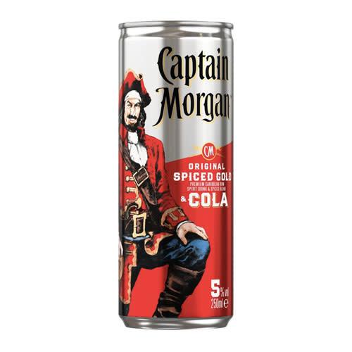 Captain Morgan Captain Morgan Original Spiced Gold and Cola