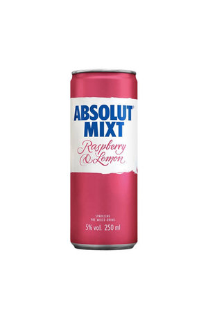 Absolut Absolut Mixt Raspberry & Lemon Sparkling Pre-mixed Vodka Drink
