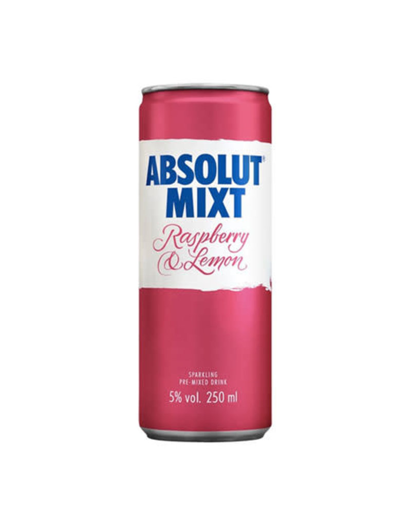 Absolut Absolut Mixt Raspberry & Lemon Sparkling Pre-mixed Vodka Drink