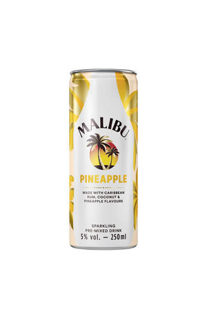 Malibu Malibu Pineapple Sparkling Pre-mixed Drink
