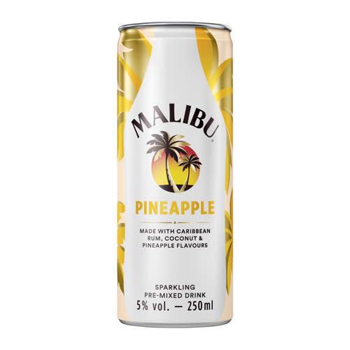 Malibu Malibu Pineapple Sparkling Pre-mixed Drink