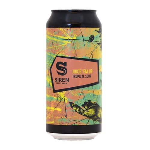 Siren Siren Juice 'Em Up Tropical Sour Ale