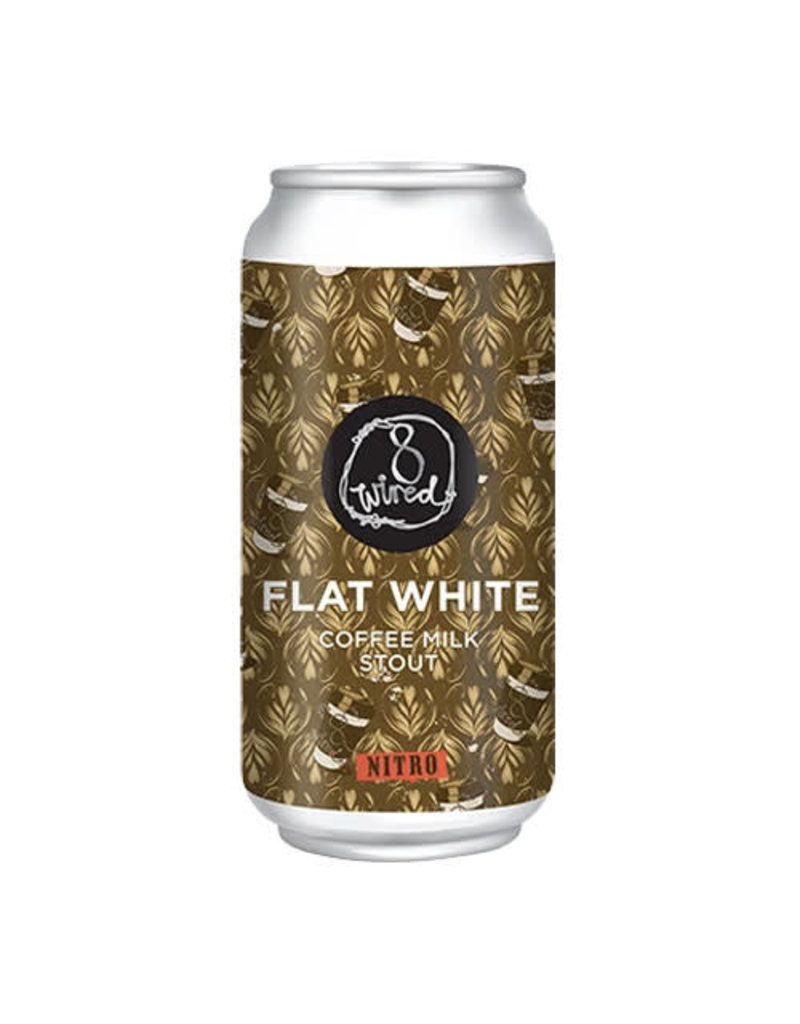 8Wired Brewing 8Wired Flat White Coffee Milk Nitro Stout can