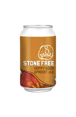 8Wired Brewing 8Wired Stone Free Sour Apricot Ale can