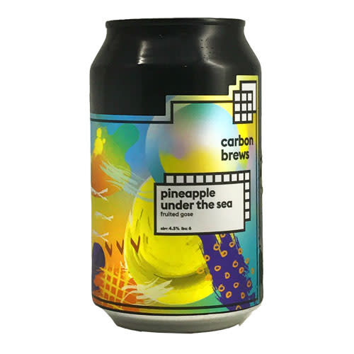 Carbon Brews Carbon Brews Pineapple Under The Sea Fruited Gose
