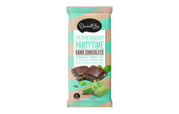 Darrell Lea Darrell Lea Peppermint Party Dark Chocolate Block 180g