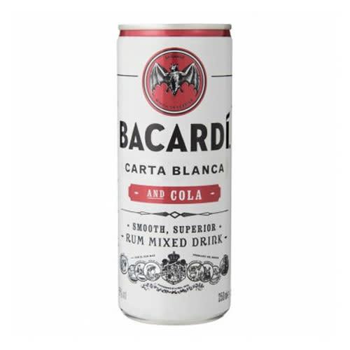 Bacardi Bacardi Carta Blanca & Cola
