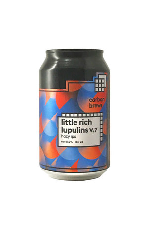 Carbon Brews Carbon Brew Little Rich Lupulins V7 Hazy IPA