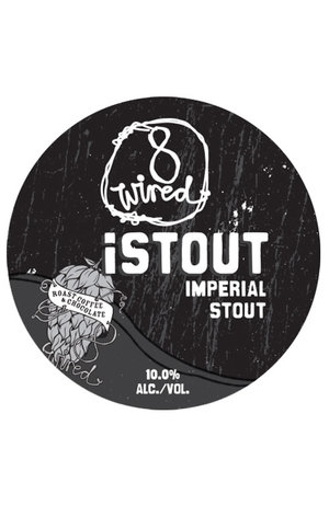 8Wired Brewing 8Wired iStout Imperial Stout Keg 20L
