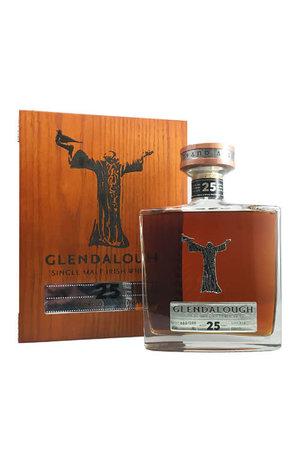 Glendalough Glendalough 25YO Single Malt Virgin Wicklow Oak Finish Irish Whiskey